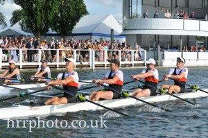 Neck-and-neck with Nottingham going into the last 10 strokes of the race. Photo credit: http://www.hrr.co.uk/results/photos/2014/friday/